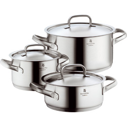 BATTERIE DE CASSEROLES GOURMET PLUS 9 PIECES