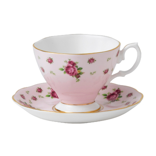 TASSE A EXPRESSO ET SOUCOUPE NCRPINK